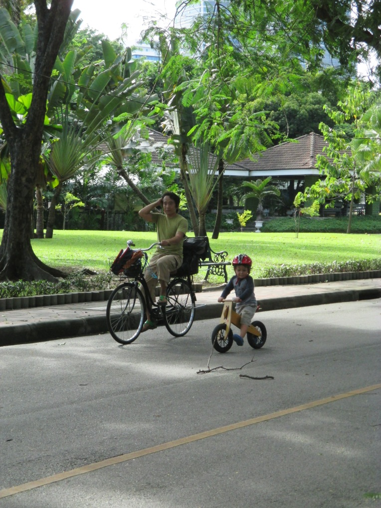 Lumpini Park is a well-landscaped and attractive place to visit, exercise, play and relax.