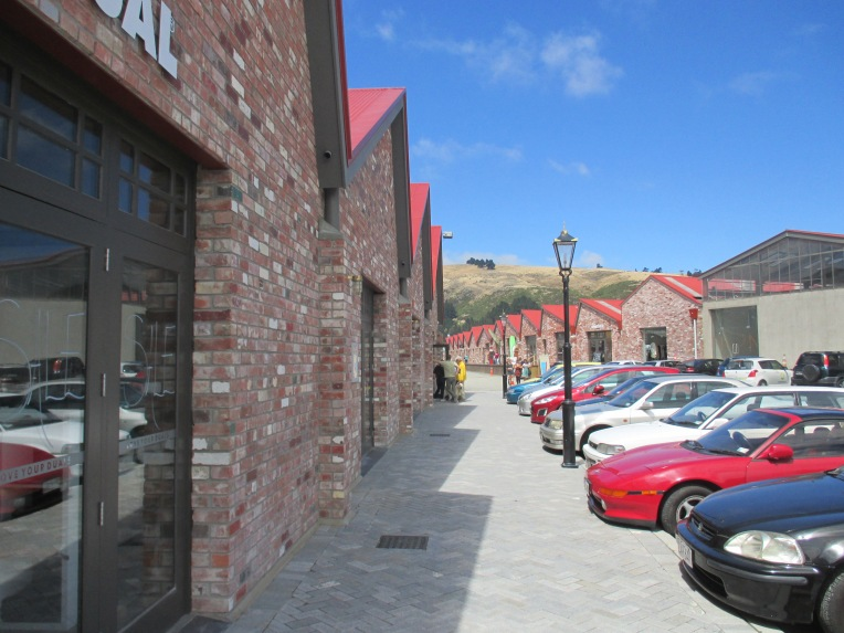 The newly developed retail site, The Tannery, attracts residents from all over Christchurch despite its distance from the city centre.